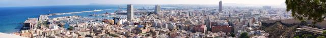 Panorámica de Alicante