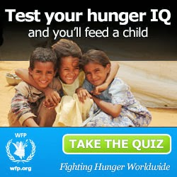 TAKING this QUIZ can FEED a CHILD