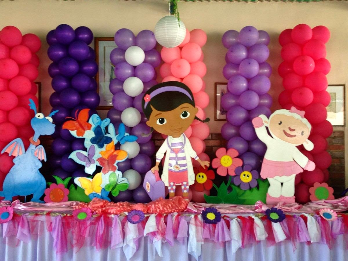 Fiestas Infantiles Decoradas con la Doctora Juguetes