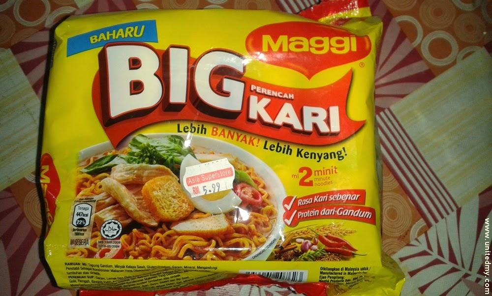 New Maggi Big kari RM 5.99 2014
