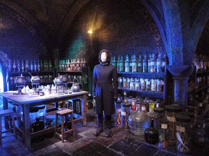 A sala de Snape - Visitando os Estúdios de Harry Potter em Londres