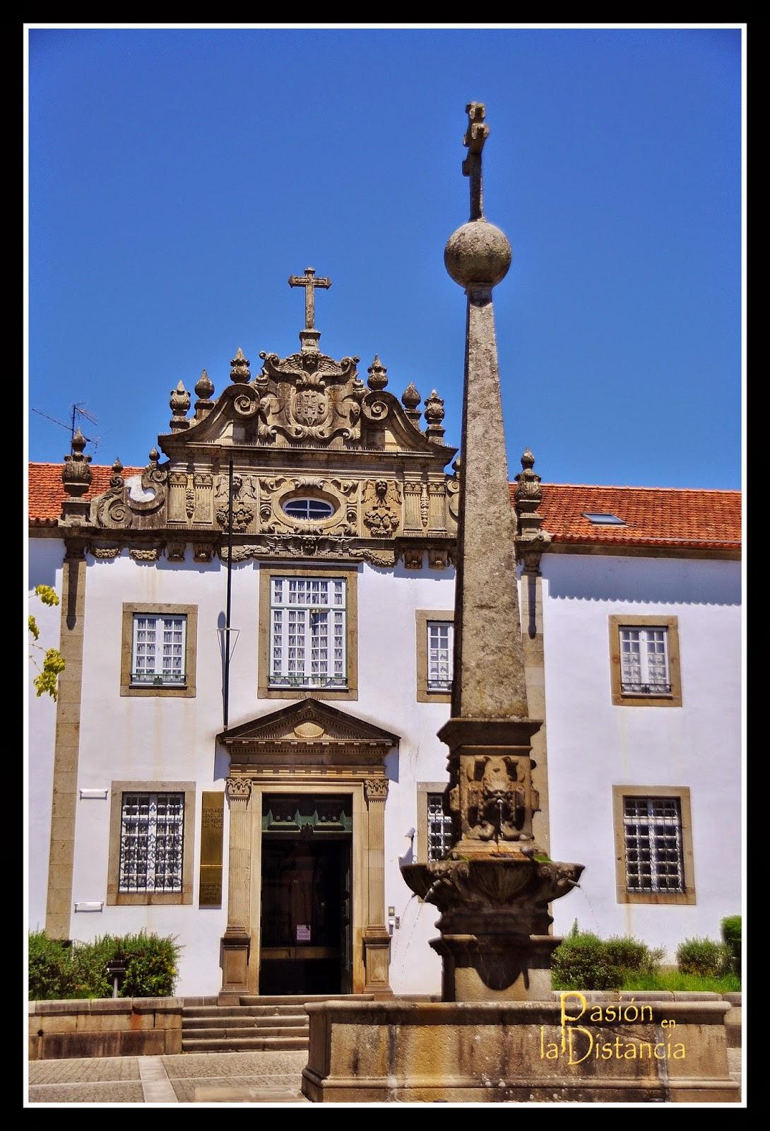 Plaza_Santiago_Seminario_Braga+Museo+Pio+XII+