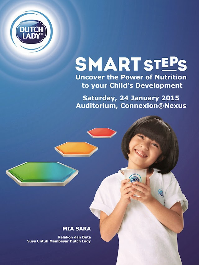 Dutch Lady Smart Steps Workshop: Uncover The Power Of Nutrition To Your Child's Development