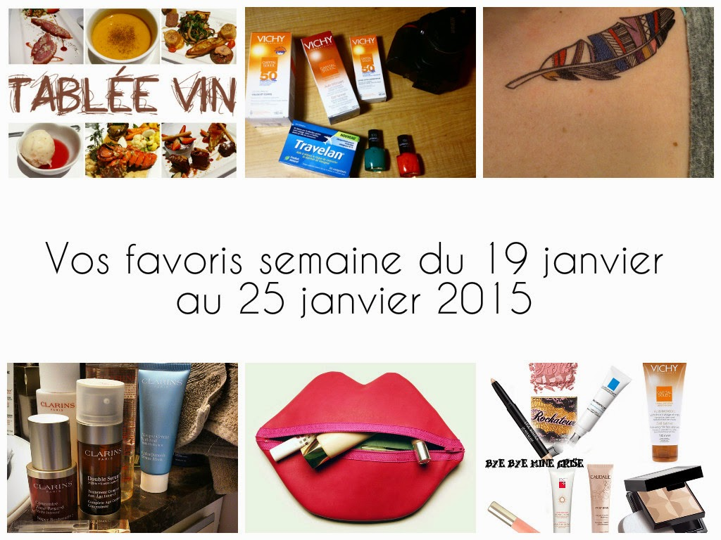 Vos Favoris du 19 au 25 janvier 2015