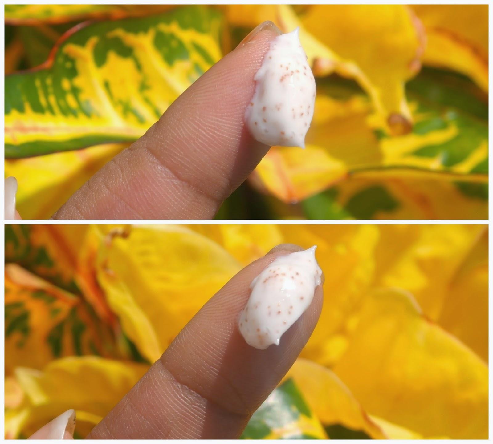Garnier pure active apricot face scrub consistency
