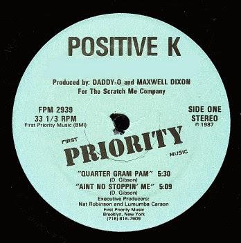 Positive K Quarter Gram Pam