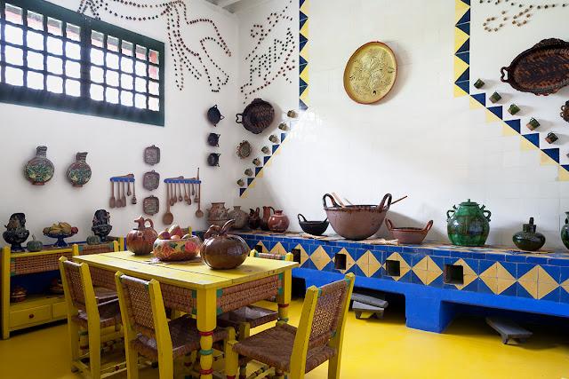 Frida Kahlo und ihre Casa Azul in Mexiko - Design in kräftigen Farben zum Nachmachen