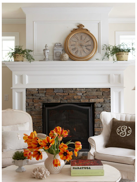 sopo cottage fireplace and mantle update