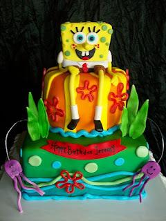 Beautiful Spongebob Squarepants Birthday Cakes