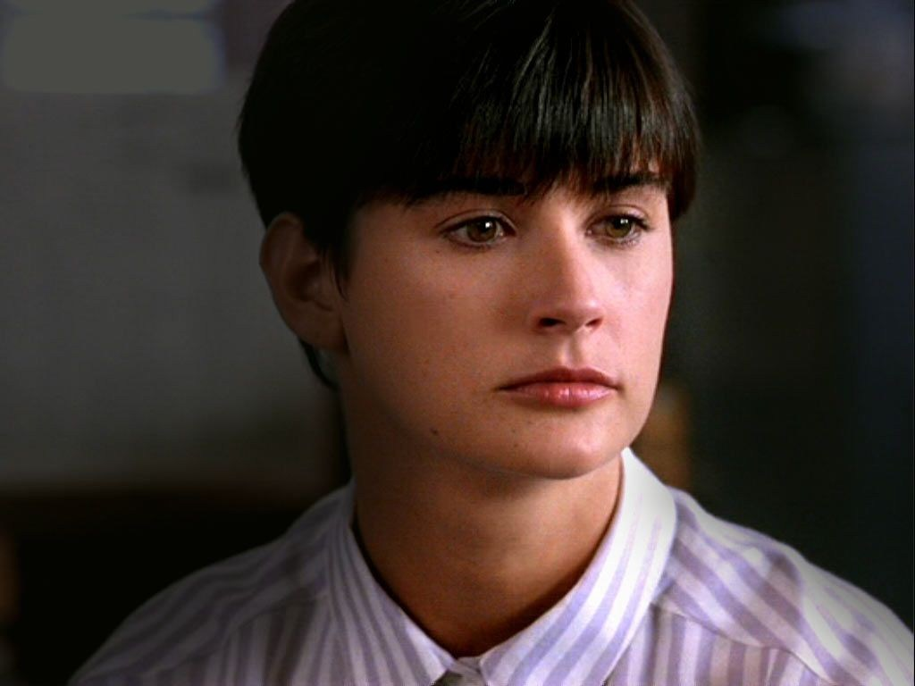 Demi Moore Short Hairstyle