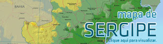 MAPA POLÍTICO DE SERGIPE (75 Municípios)