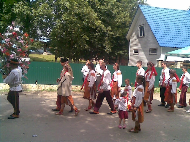 Весілля у Космачі, Українські Карпати