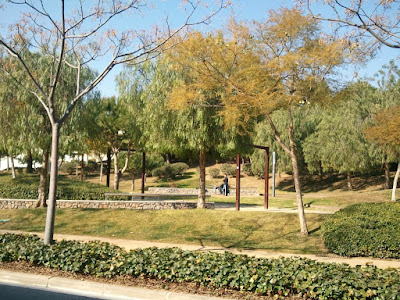A nice park in Castelldefels