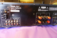 Yamaha RX-395 rx 395 receiver back