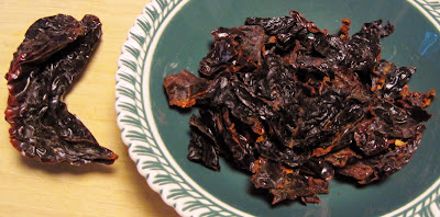 dried ancho chili peppers
