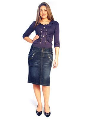 Saias Jeans da Moda Evangélica