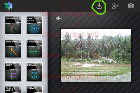 Aplikasi Edit Foto Android : Snapseed