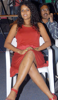 Sonia Deepthi Cute Telugu Actress in Red Gown