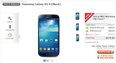 Samsung Galaxy S IV to be available now on Cricket Wireless in the United States