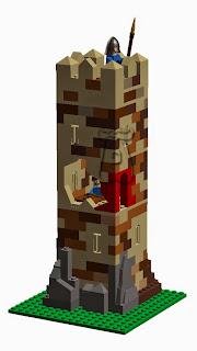 Ejemplo 1: acceso elevado de una atalaya