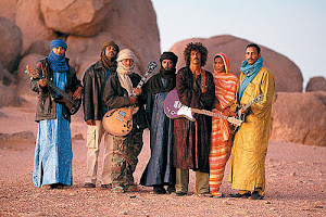 Dine' band Sihasin welcomes Saharan Desert Tinariwen
