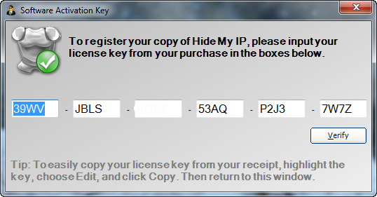hide my ip 5.4 free 1 year license key