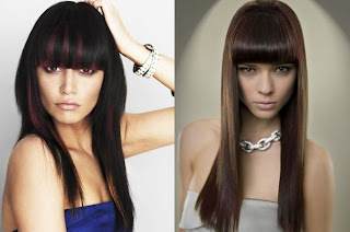 Long Hair style Trend 2012