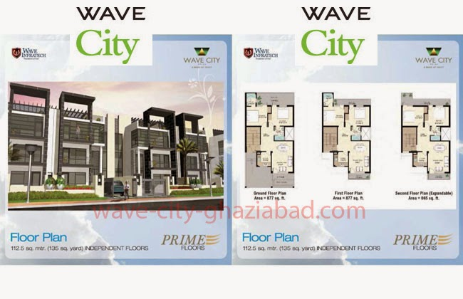 Wave City Independent Prime Floors 135 sq. yard