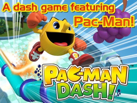 Pac-man Dash for android and ipad