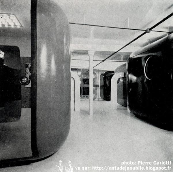 Paris - Bureaux Jean Cacharel  Architecte, Décorateur: Gerard Grandval  Création: 1968