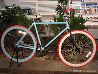 700C Fixie with Coaster Hub Fixed Gear Bike