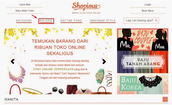 Shopious.com Direktori Toko Online Fashion Terpercaya-blog kang miftah