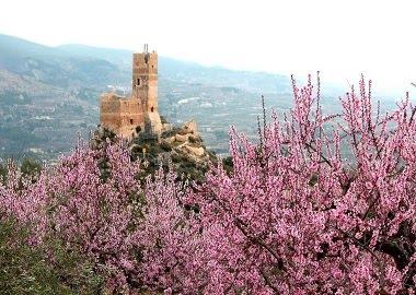 El castell de Penella. Cocentaina. El Comtat.