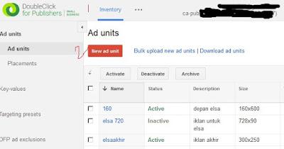 Cara Pasang Iklan Google DFP Di Blog