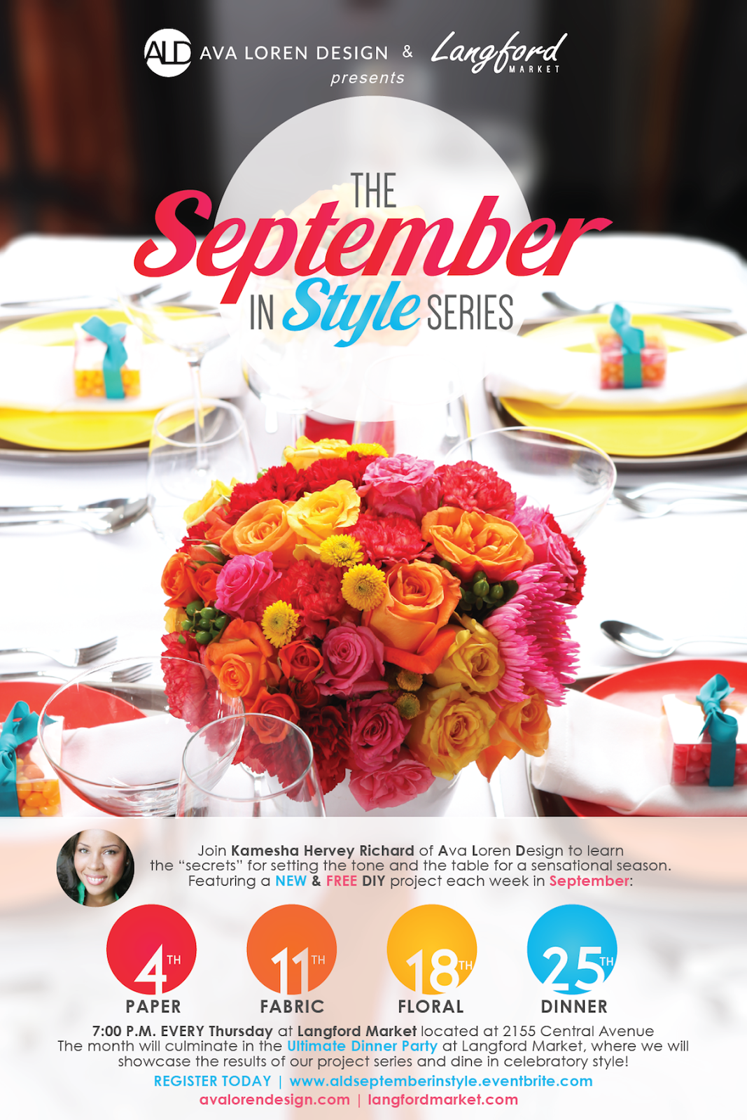 Ava Loren Design  | September in Style Series