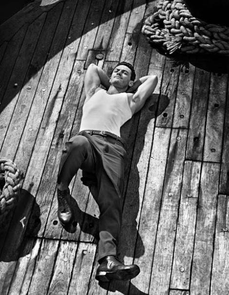 Luke Evans by John Balsom