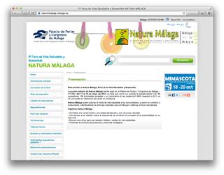 Web Natura Málaga
