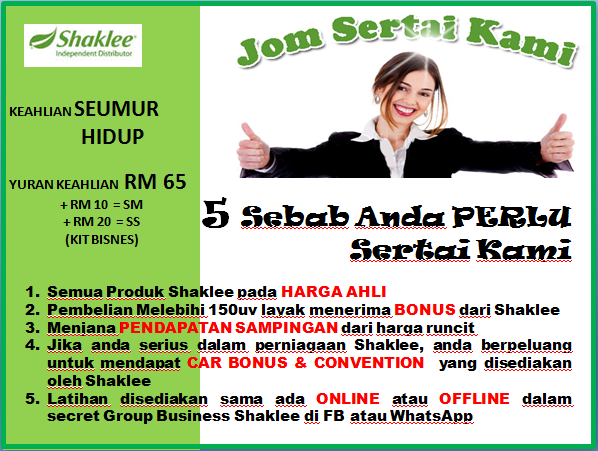 JOM SERTAI SHAKLEE
