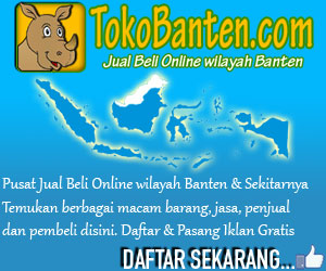 TokoBanten.com - Pusat Jual Beli Online wilayah Banten