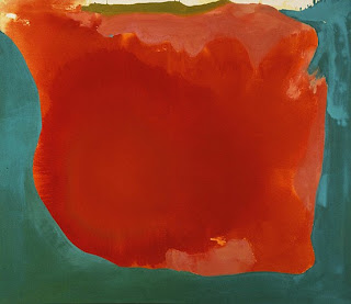 American abstract expressionist Helen Frankenthaler - Canyon (1965)