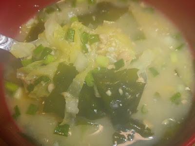 納豆汁 『味噌汁に納豆を入れると→めちゃくちゃ美味しい!!』