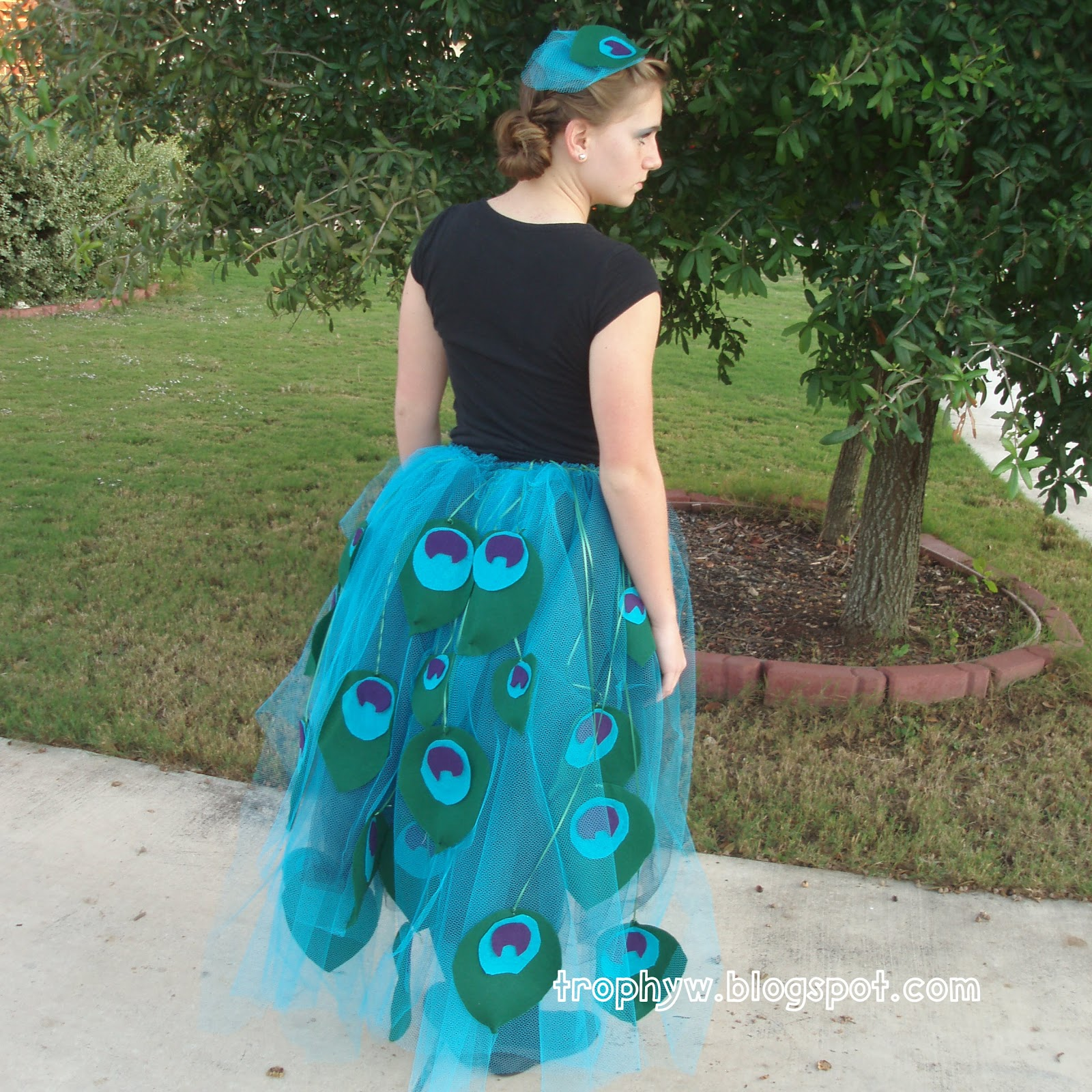 tales of a trophy wife: let's make a deal! peacock costume