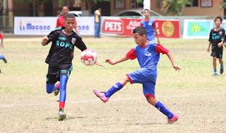 Inauguran Torneo Nacional de Fútbol Infantil Padre Vicente en Moca