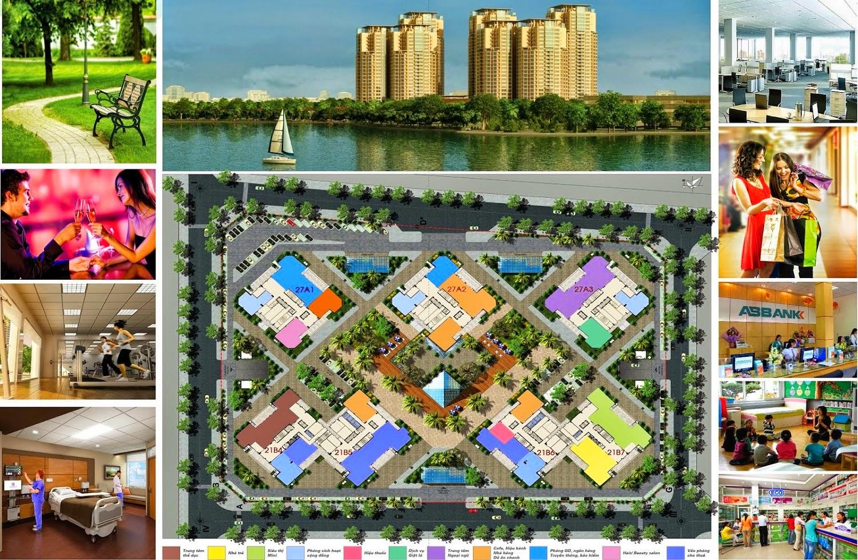 Tiện ích của chung cư Green stars khu đô thị Thành Phố Giao Lưu