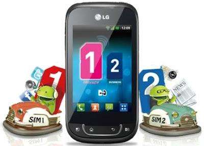 Celular Desbloqueado LG X350 Azul Dual Chip QWERTY c  - imagens para celular lg x350