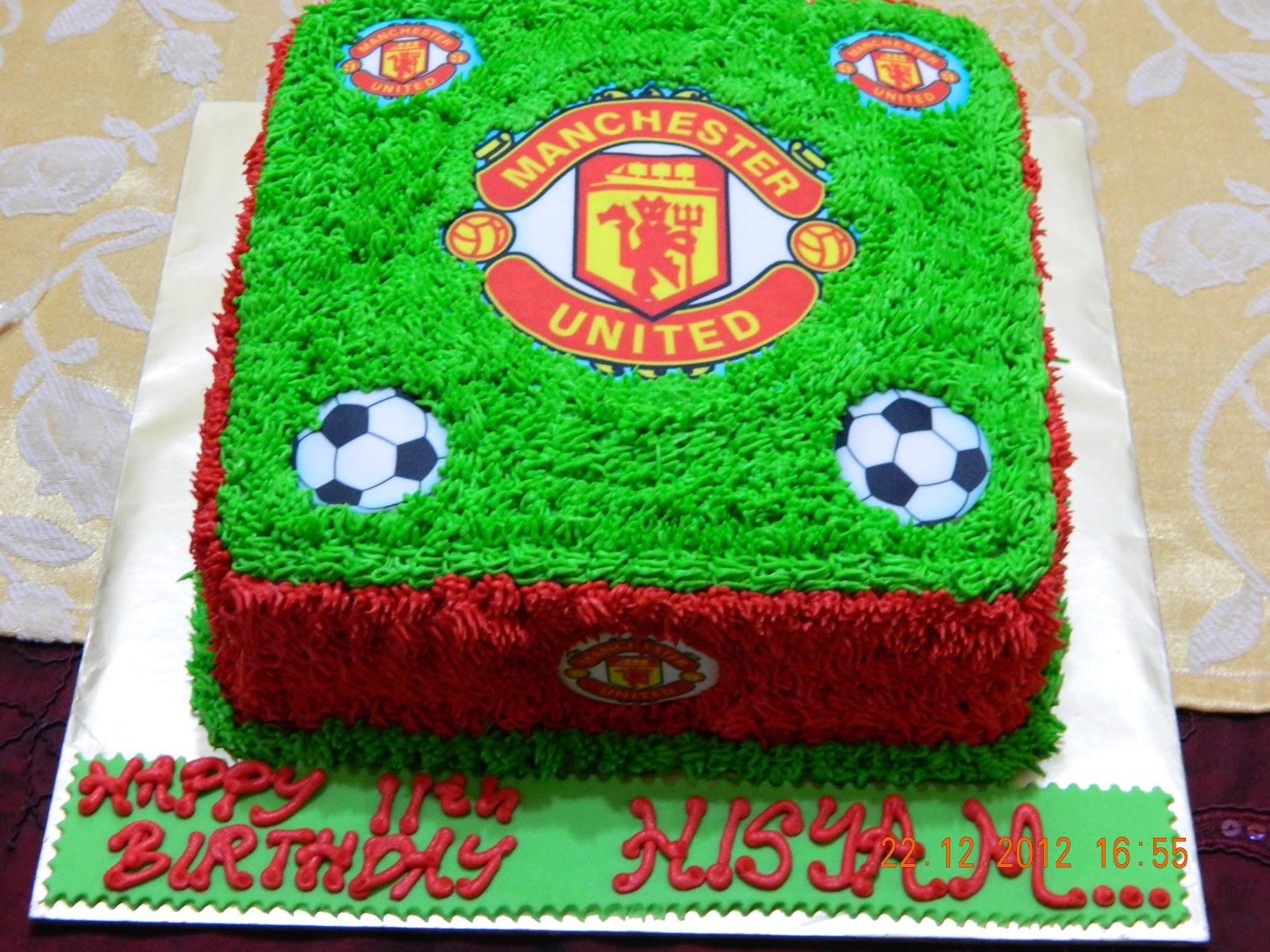 Mybabydeco Cake Manchester United