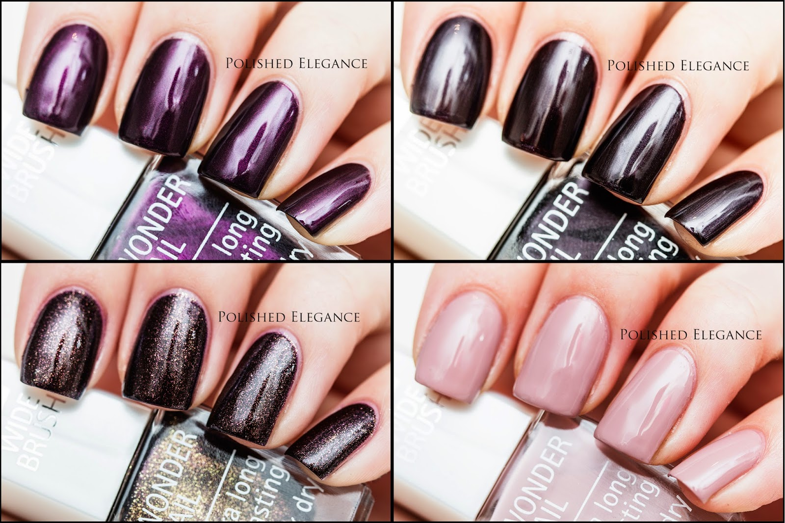 IsaDora - Coffee & Poetry - Fall 2014 swatches