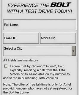 Tata Motors Offering Rs 50 Free Talktime for Airtel Users