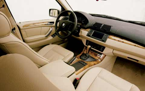 bmw x5 interior photos