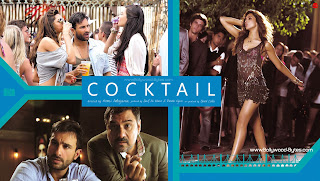Diana Penty, Deepika Padukone, Saif Ali Khan, Boman Irani Hot HD High Resolution Wallpaper from Cocktail Bollywood Movie